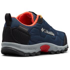 Columbia Firecamp Sledder 3 Shoes Waterproof Kids, collegiate navy/flame